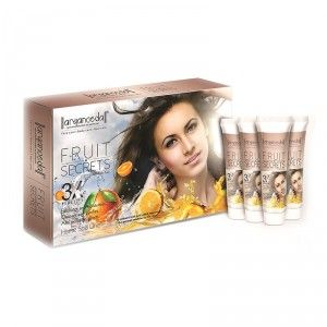 Buy Aryanveda Fruit Secrets 3X Home Spa Kit and Get Free Gift Worth Rs.64 - Nykaa