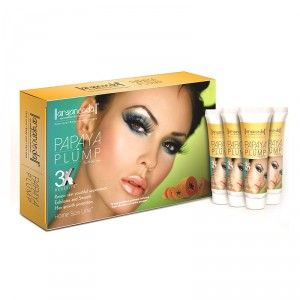 Buy Aryanveda Papaya Plump 3X Home Spa Kit + Free Gift Worth Rs. 64 - Nykaa
