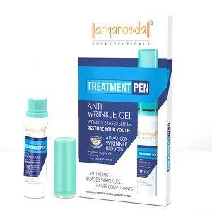 Buy Aryanveda Anti Wrinkle Treatment Gel Pen - Nykaa