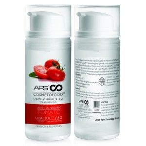 Buy APS Cosmetofood Anti Sunburn Tomato Serum - Nykaa