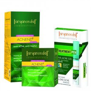 Buy Aryanveda Advanced Acne Treatment Combo Pack - Nykaa