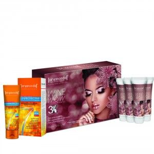 Buy Aryanveda Wine Wow 3x Home Spa Kit With Spf-40 Combo Pack - Nykaa