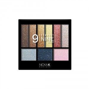Buy Nicka K Perfect 9 Colour Eyeshadow - AP018 - Nykaa