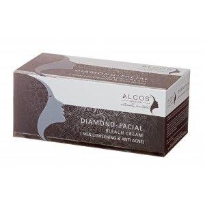 Buy Alcos Diamond Facial Bleach Cream - Nykaa