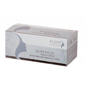 Buy Alcos Silver Facial Bleach Cream - Nykaa