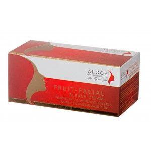 Buy Alcos Fruit Facial Bleach Cream - Nykaa