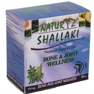 Buy Naturyz Shallaki 250mg 60 Capsules - Nykaa