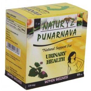Buy Naturyz Punarnava 350mg 60 Capsules - Nykaa
