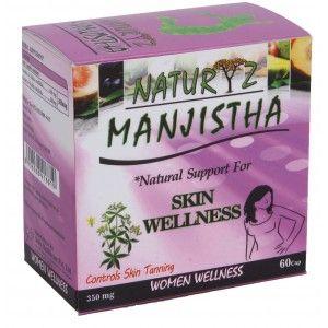Buy Naturyz Manjishta 350mg 60 Capsules - Nykaa