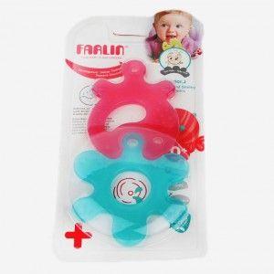 Buy FARLIN Educational Smiley Teethers (Blue + Pink) - Nykaa