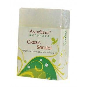 Buy AyurSens Classic Sandal Bathing Bar - Nykaa