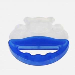 Buy FARLIN Fish Shape Silicon Gum Soother With Handle  (Blue) - Nykaa