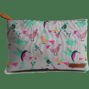 Buy DailyObjects Birds Pattern Carry-All Pouch Medium - Nykaa