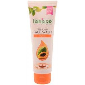 Buy Banjara's Papaya Face Wash - Nykaa