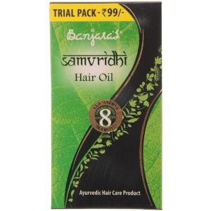 Buy Banjara's Samvridhi Hair Oil - Nykaa