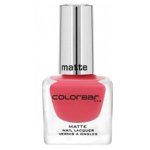 Buy Colorbar Matte Nail Lacquer - Nykaa
