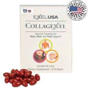 Buy ExxelUSA Collagexxel Special Formula For Skin, Hair And Nail Support ( Collagen 500Mg ) - Nykaa