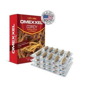 Buy ExxelUSA Omexxel Cordy ( Cordyceps Sinensis Extract 240Mg) - Nykaa