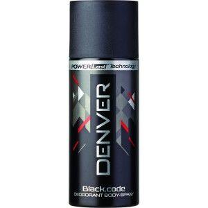 Buy Denver Black Code Deodorant for Men - Nykaa