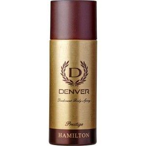 Buy Denver Prestige Deodorant Hamilton For Men(165ml) - Nykaa