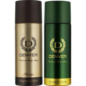 Buy Denver Hamilton and Prestige Deodorant Combo (Pack of 2) - Nykaa