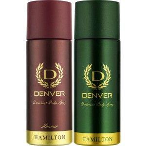 Buy Denver Hamilton and Honour Deodorant Combo (Pack of 2) - Nykaa