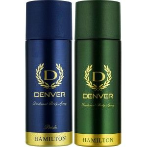 Buy Denver Hamilton and Pride Deodorant Combo (Pack of 2) - Nykaa