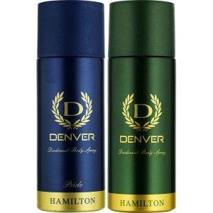 Buy Denver Hamilton and Pride Deodorant Combo (Pack of 2) - Nykaa