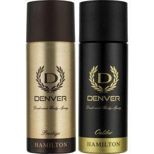 Buy Denver Prestige and Caliber Deodorant Combo (Pack of 2) - Nykaa