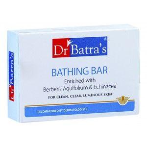 Buy Dr. Batra's Bathing Bar Enriched With Berberis Aquifolium & Echinacea  - Nykaa