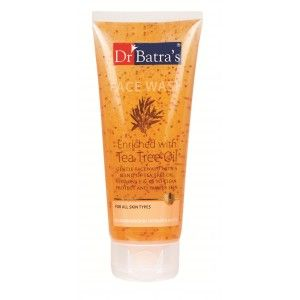 Buy Dr. Batra's Face Wash Enriched With Tea Tree Oil - Nykaa