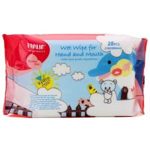 Buy FARLIN Wet Wipe For Mouth And Hand Wash - Nykaa