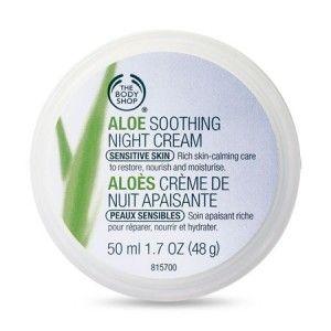 Buy The Body Shop Aloe Soothing Night Cream - Nykaa