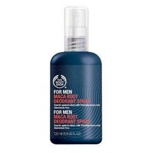 Buy The Body Shop For Men Maca Root Deodorant Spray - Nykaa