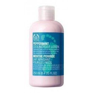 Buy The Body Shop Peppermint Cooling Foot Lotion  - Nykaa