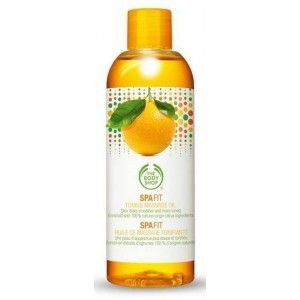 Buy The Body Shop Spa Fit Toning Massage Oil  - Nykaa