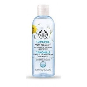 Buy The Body Shop Camomile Waterproof Eye & Lip Make Up Remover - Nykaa