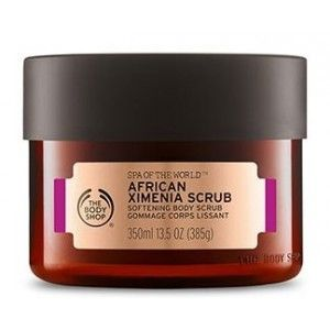 Buy The Body Shop Spa Of The World African Ximenia Scrub - Nykaa