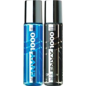 Buy Envy 1000 Alpine Thrill & Miami Rush Crystal Deodorant Combo (Pack of 2) - Nykaa