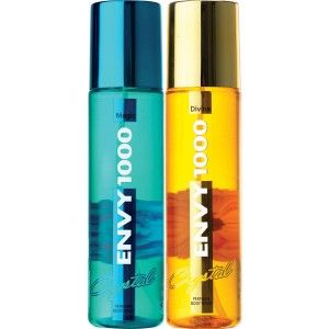 Buy Envy 1000 Magic & Divine Crystal Deodorant Combo (Pack of 2) - Nykaa
