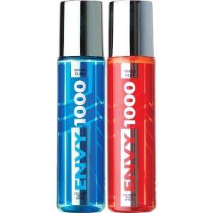 Buy Envy 1000 Texas Heat & Miami Rush Crystal Deodorant Combo (Pack of 2) - Nykaa