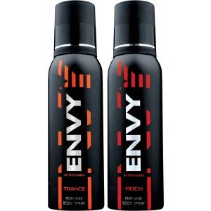 Buy Envy 1000 Trance & Rock Deodorant Combo (Pack of 2) - Nykaa