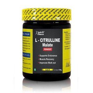 Buy HealthVit Pure L-Citrulline Dl-Malate Powder - Nykaa