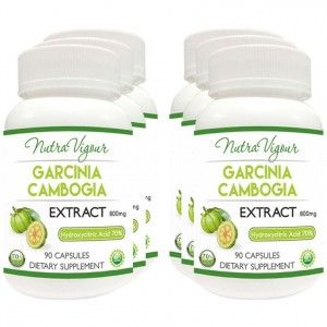 Buy Nutravigour Organic Garcinia Cambogia Extract Weight Management - 90 Capsules 800mg - Pack Of 4 - Nykaa