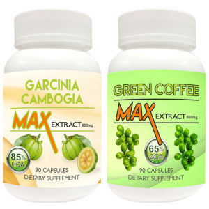 Buy Nutravigour Garcinia Cambogia Max 85% HCA Extract 800mg Veggie 90 Capsules With Green Coffee Max Extract Chlorogenic Acid (GCA) 800mg Vegetarian 90 Capsules - Pack Of 2 - Nykaa