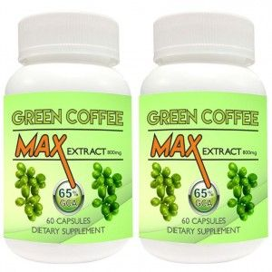 Buy Nutravigour Green Coffee Max 100% Pure & Natural Maximum Concentration Chlorogenic Acid (GCA) Extract 800mg 60 VEG Capsules For Weight Loss - Pack Of 2 - Nykaa