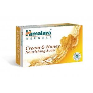 Buy Himalaya Herbals Cream And Honey Nourishing Soap - Nykaa