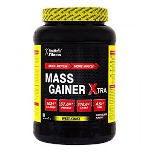 Buy HealthVit Mass Gainer Xtra (Chocolate Flavour) - Nykaa