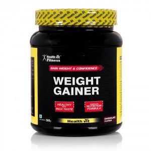 Buy HealthVit Weight Gainer (Chocolate Flavour) - Nykaa