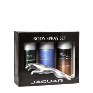 Buy Jaguar Deo Pack of 3 ( Classic Blue, Classic Amber, For Men) - Nykaa
